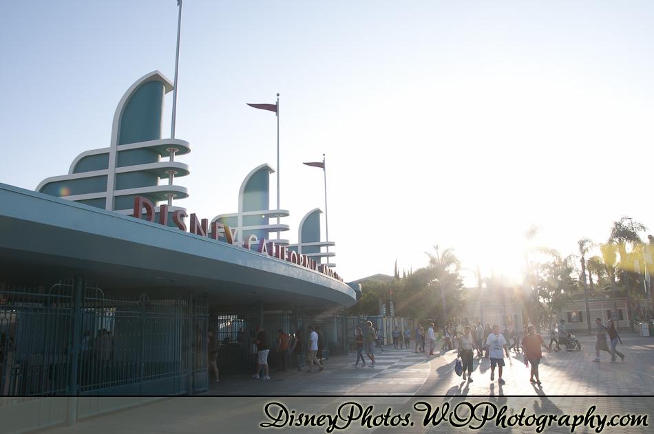 Locations - California Adventure Entrance