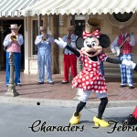 Mickey & Minnie Mouse with Main Street Strawhatters