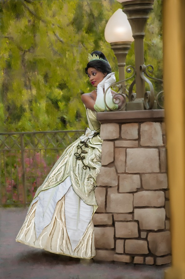 Disney Princess Tiana at the Disneyland Resort - Objects